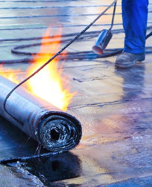 Film plastico HDPE para la lamina asfaltica